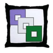 Genderqueer Pride Throw Pillow