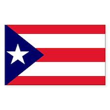 Puerto Rico Rectangle Stickers