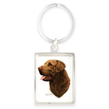 Chesapeake Bay Retriever Portrait Keychain