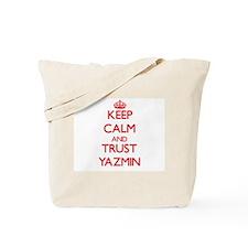 Keep Calm and TRUST Yazmin Tote Bag