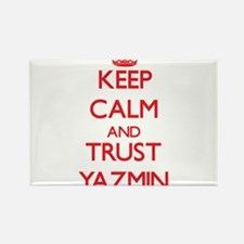 Keep Calm and TRUST Yazmin Magnets