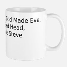 Why God Made Steve Mug