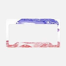 Obama14.7x9.67 Painted Name R License Plate Holder