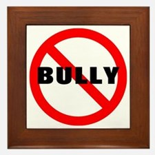 No Bully Framed Tile