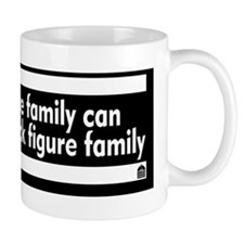 My stick figure family Mug