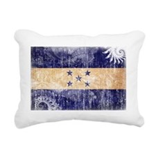 Honduras textured Crazeh Rectangular Canvas Pillow