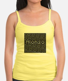 Alonso, Binary Code Ladies Top