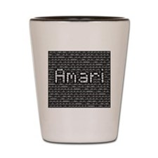 Amari, Binary Code Shot Glass