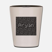 Aryan, Binary Code Shot Glass
