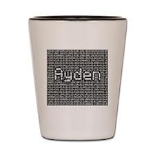 Ayden, Binary Code Shot Glass