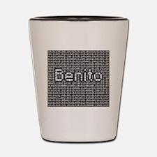 Benito, Binary Code Shot Glass