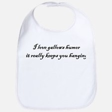Gallows Humor Bib
