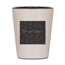 Brenden, Binary Code Shot Glass
