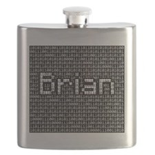 Brian, Binary Code Flask