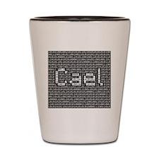 Cael, Binary Code Shot Glass