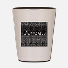 Cordell, Binary Code Shot Glass
