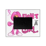 Fight like a girl Picture Frames