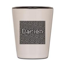 Darien, Binary Code Shot Glass