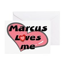 marcus loves me  Greeting Cards (Pk of 10)