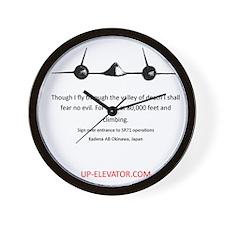 SR71 Wall Clock