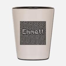 Emmett, Binary Code Shot Glass