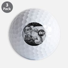 We Can Do It Kettlebells Golf Ball