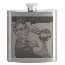 We Can Do It Kettlebells Flask