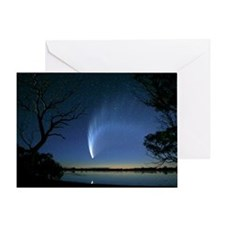 Comet Greeting Card