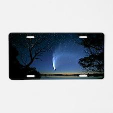 Comet Aluminum License Plate