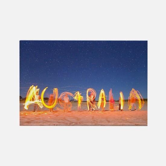 Australia Rectangle Magnet