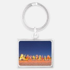 Australia Landscape Keychain