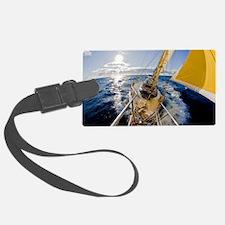 Sailing Luggage Tag