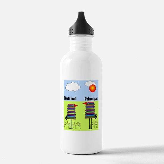 FF retired principal Water Bottle