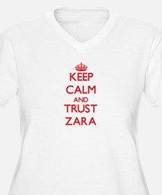 Keep Calm and TRUST Zara Plus Size T-Shirt