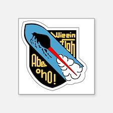 """II.JG400 Square Sticker 3"""" x 3"""""""