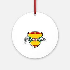 grenada Round Ornament