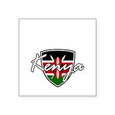 "kenya1 Square Sticker 3"" x 3"""