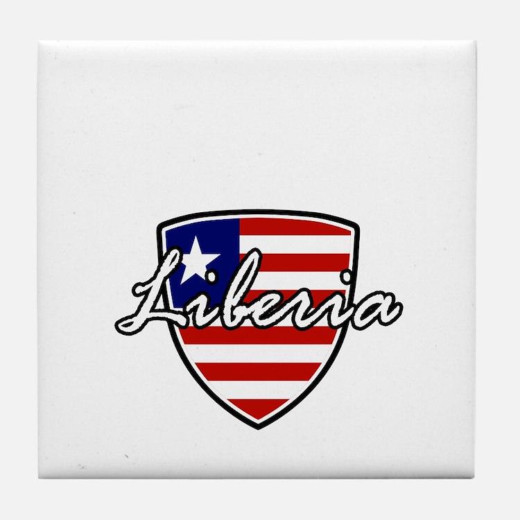 liberia1 Tile Coaster
