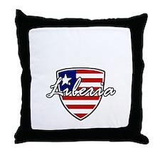 liberia1 Throw Pillow