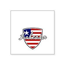 """liberia1 Square Sticker 3"""" x 3"""""""