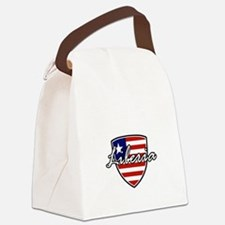 liberia1 Canvas Lunch Bag