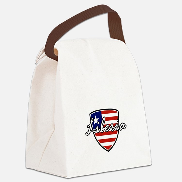 liberia1 Canvas Lunch Bag
