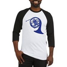 blue french horn Baseball Jersey