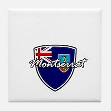 montserrat1 Tile Coaster