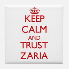Keep Calm and TRUST Zaria Tile Coaster