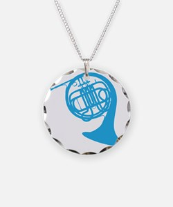 french horn Necklace