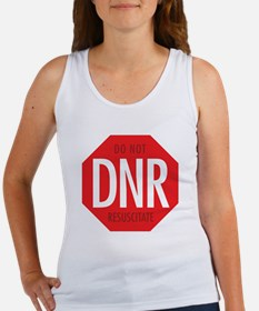 dnr-do-not-resusciatate-02a Women's Tank Top