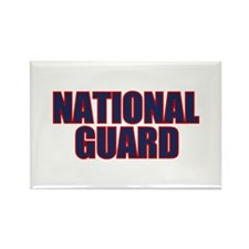 NATIONAL GUARD Rectangle Magnet