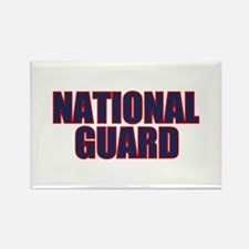 NATIONAL GUARD Rectangle Magnet