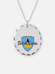 saint lucia1 Necklace